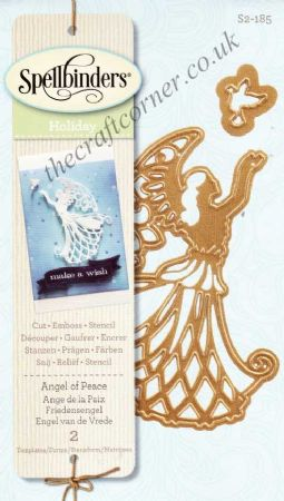 Angel of Peace Spellbinders Holiday Die D-Lites S2-185